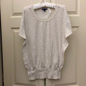 Gap t shirt SZ LG , oatmeal color .